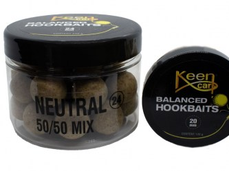 Balanced Hookbaits Neutral (Mix: 50/50)