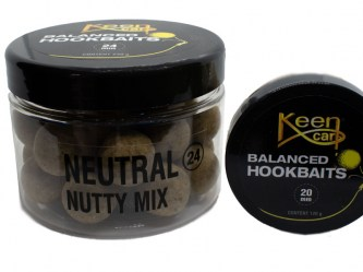 Balanced Hookbaits Neutral (Mix:Nutty Mix)