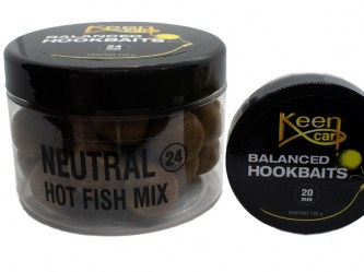 Balanced Hookbaits Neutral (Mix: Hot Fish & Gammarus Mix)